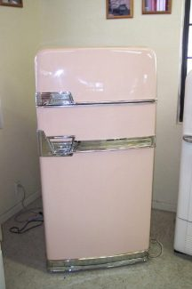 a 1950s two-door Frigidaire