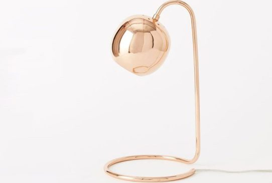 Scoop Table Lamp- Copper