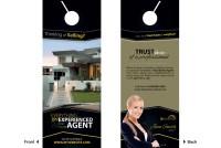 Real Estate Door Hanger Ideas | Realtor Door Hanger Ideas
