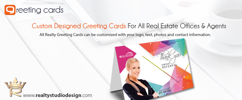 Real Estate Greeting Card Templates Realtor Greeting Card Templates