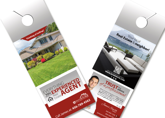 Promotional Door Hanger Template - Design Templates