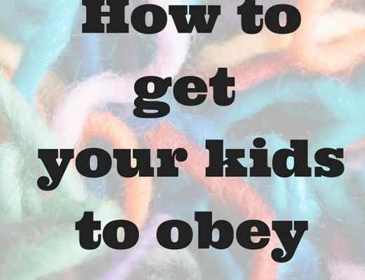 Dear Mom: 5 Key actions to spur your kids to obedience. Teaching obedience from a mom who became successful at raising obedient children.