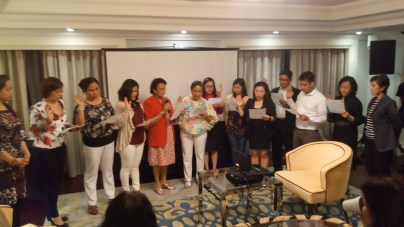 Business partner Raffles Residences hosted business meeting of REBAP Makati last February 24, 2016. Another business partner, Lamudi Philippines, provided learning session with topic on Internet Media Trends.
