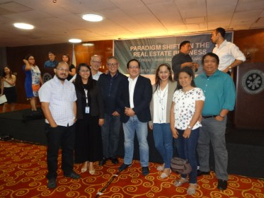 "Hoppler invited REBAP Makati officers to attend a seminar on ""Paradigm Shifts in the Real Estate Business"" last July 26, 2016 at AIM Conference Center Makati City."