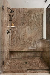 Tahoe Acrylic Granite Bathroom Wall Surround  Re