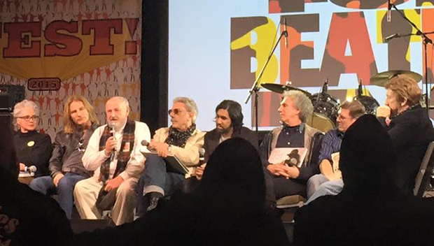 Author panel at the 2015 Chicago Fest for Beatles Fans