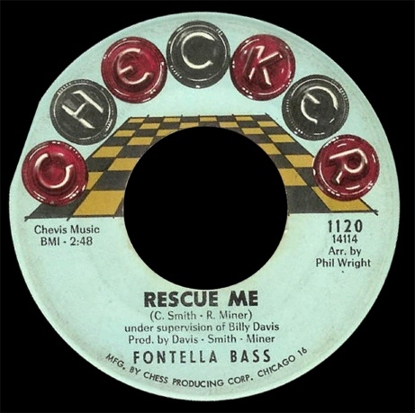 Fontella Bass Rescue Me - Soul Of The Man