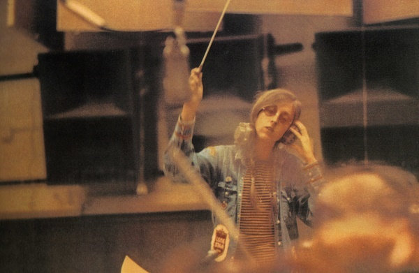 Sill in the studio during the making of Heart Food