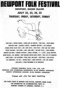 newport folk festival 1965
