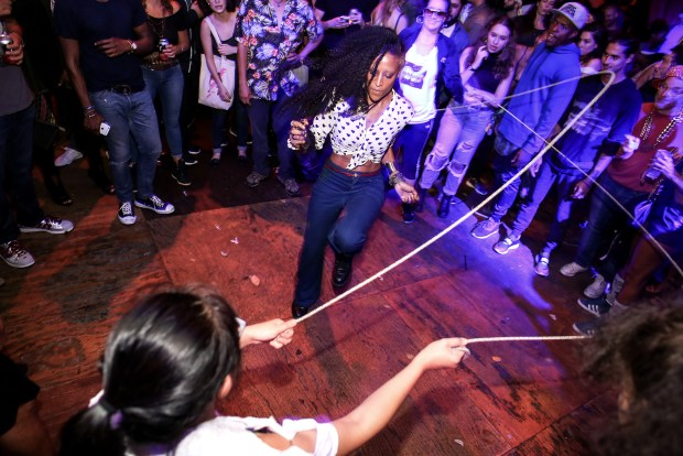 Breakdancing and Double Dutch galore at House of Yes.