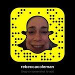 Rebecca Coleman Snapcode