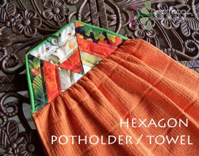 TUTORIAL ~ Hexagon Potholder Towel