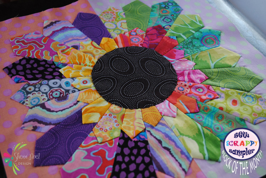 Sew Scrappy Sampler ~ Block 2