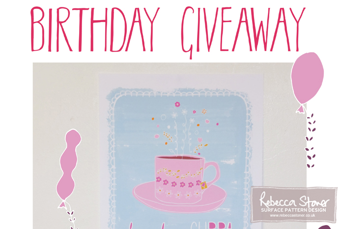 Birthday Giveaway - Blog Post - Rebecca Stoner