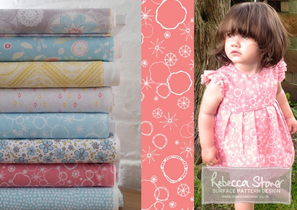 Prairie Fabric Collection_2  by Rebecca Stoner
