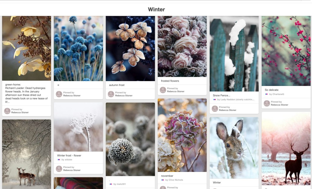 Winter Pinterest Board for Interior Goods Direct by Rebecca Stoner