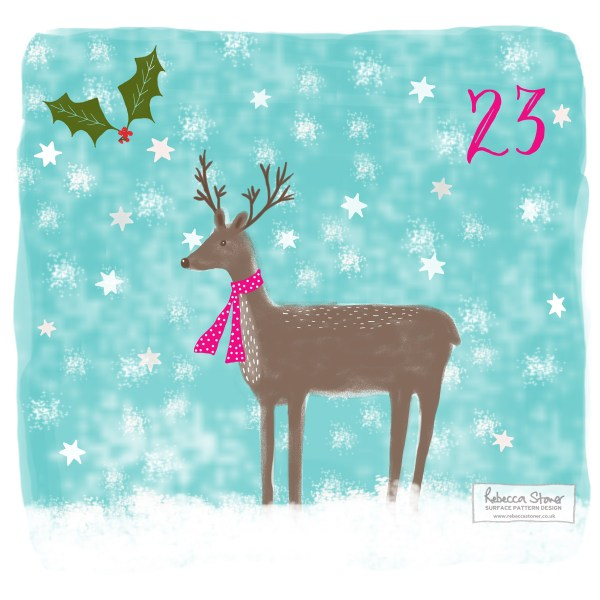 Illustrated Advent Day 23 by Rebecca Stoner