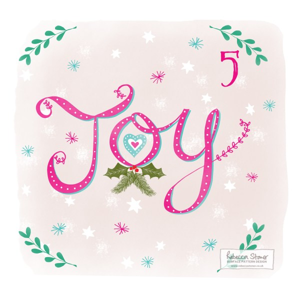 Illustrated Advent Day 5 by Rebecca Stoner