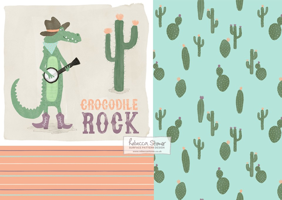Crocodile Rock by Rebecca Stoner