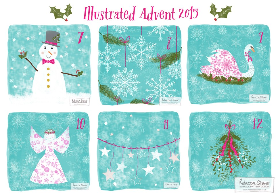 Illustrated Advent_2 by Rebecca Stoner