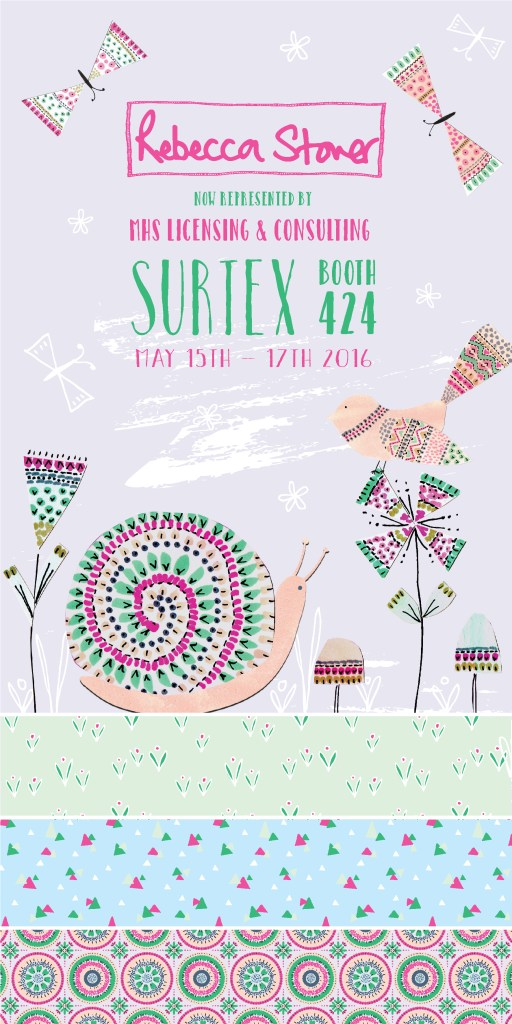 Surtex Countdown by Rebecca Stoner