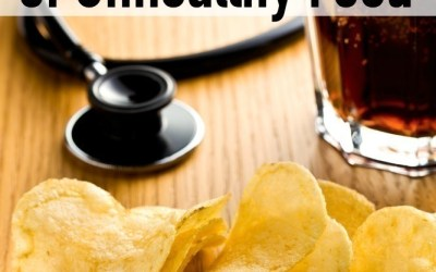 The unhealthy food. Salty crisps.