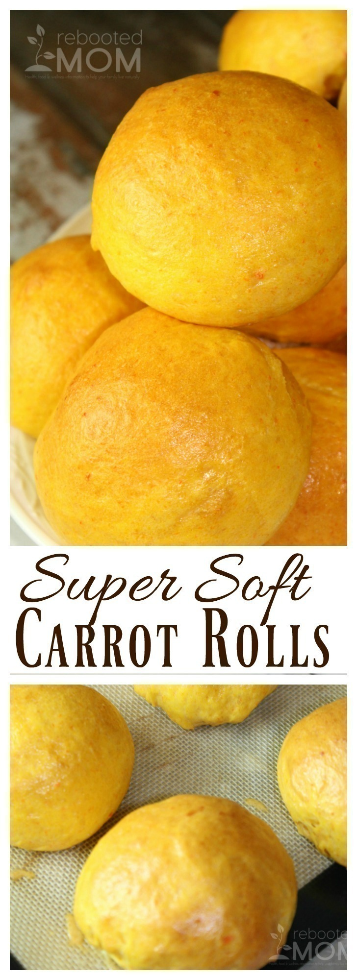 Super Soft Carrot Rolls