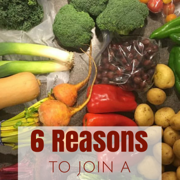 6 Reasons to Join a CSA (Community Supported Agriculture)