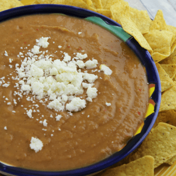 Mexican Bean Dip (Instant Pot)