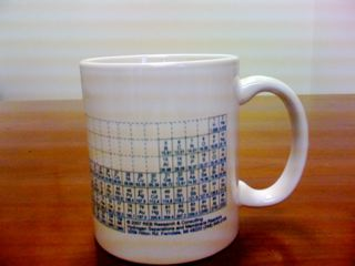 REB Research, Periodic table coffee cup