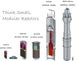 Nuclear steam boilers can be very compact