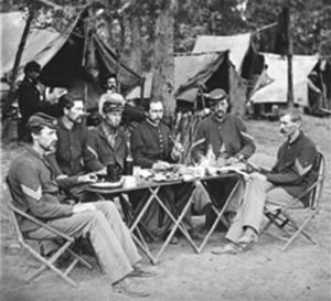 A Civil War Thanksgiving. It's fellowship that makes peace possible.