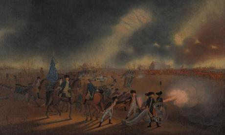 James Peale, 1783. John Sullivan and his forces at Frog Hollow. Battle of Princeton