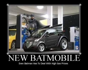 Not a classic Batmobile, but I like the concept.