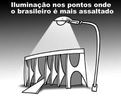 Recado Facebook Iluminação