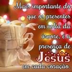 Recado Facebook A presença de Jesus em nossos corações