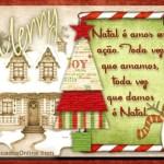 Recado Facebook Dê muito amor no natal!