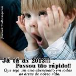 Recado Facebook O ano passou rápido!