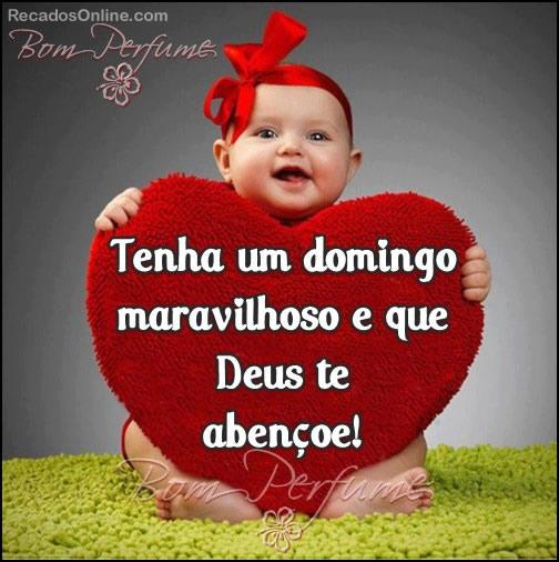 Recado Facebook Um domingo MARAVILHOSO!