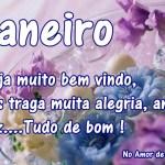 Recado Facebook Janeiro seja bem vindo!