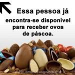 Recado Facebook Estou disponível para ganhar chocolates!