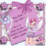 Recado Facebook Boa noite anjo!
