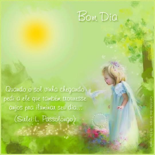 Recado Facebook Bom dia!