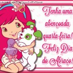Recado Facebook Feliz dia do abraço!