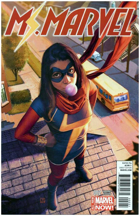 Rare Comics - Ms Marvel #2 Molina Variant