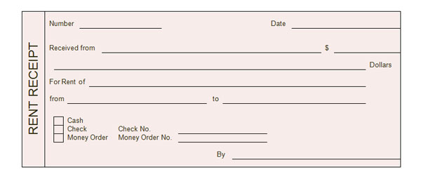 Free Legal Forms Receipt Payment – Receipt of Payment Form