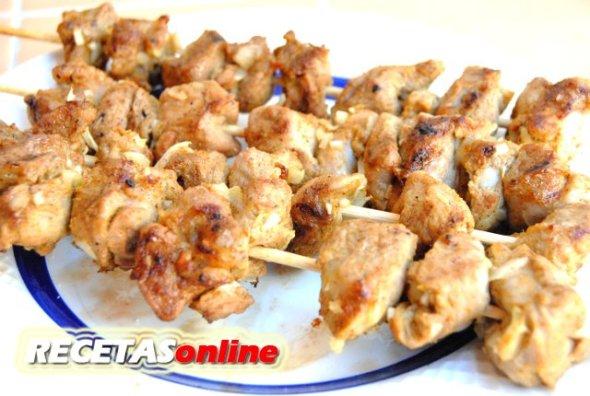 Pinchitos morunos - Recetas de cocina RECETASonline