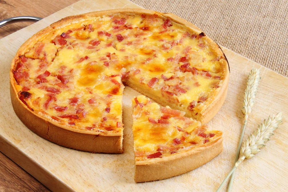 how to make quiche pastry base