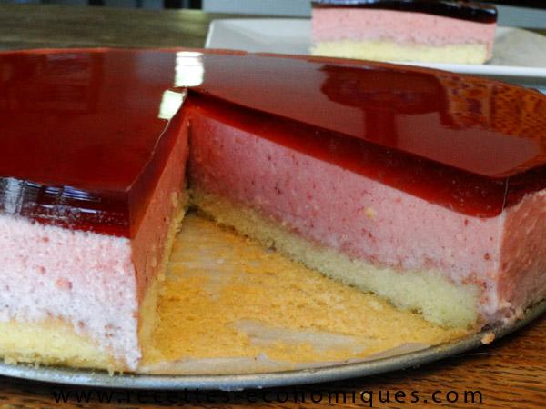 Recette du bavarois aux fraises au thermomix excellent - Recette dessert rapide thermomix ...