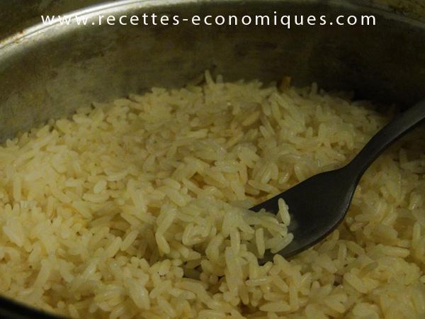 Plats archives recettes economiques - Riz au cuit vapeur ...